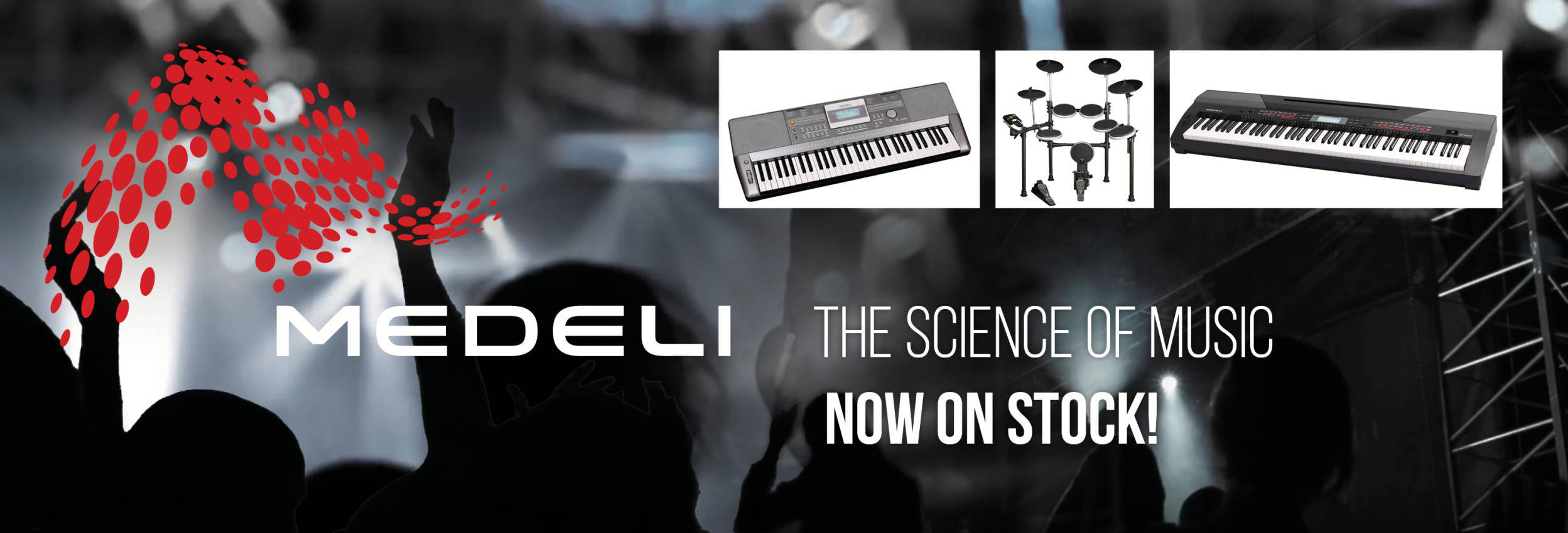 Medeli Digital Pianos, Keyboards and Digital Drums
